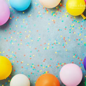 Balloon Confetti Celebration