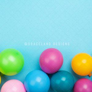 Colourful Birthday Balloons