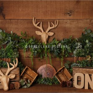 Alces Antlers by Alana Taylor Designs