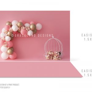 Pink, White and Gold Carriage – COMBO