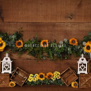 Sunflower Stand by Alana Taylor Designs