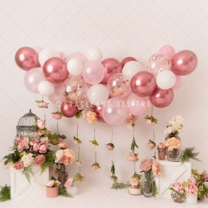 Balloons and Birdcages By Honey Pie